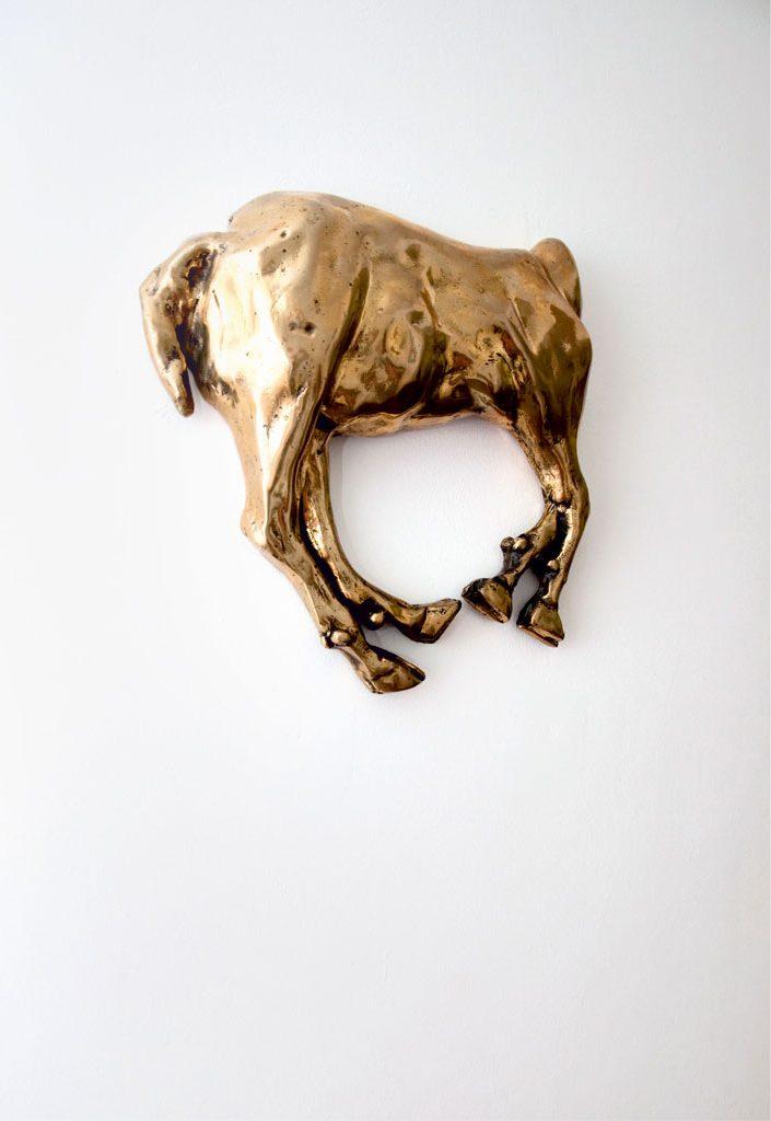 Bronze Horse Sculpture Headless